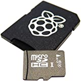 8GB NOOBS card for the Raspberry Pi Model B+