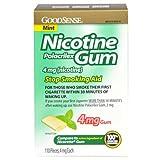 GoodSense Nicotine Polacrilex Gum, Mint, 110 Count, 4mg