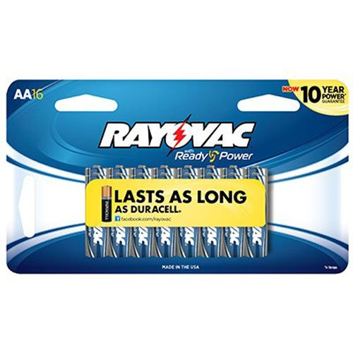 Amazon Com Rayovac Alkaline Aaa Batteries 824 18 18
