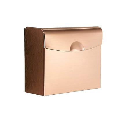 YQshelf Caja De Papel Higiénico Impermeable Caja De Papel Estantes para El Baño Montados En La