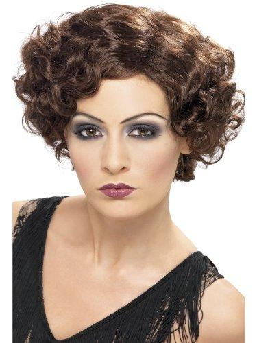 1920s Flapper Wig - One Size. Costume Fancy Dress ()
