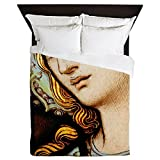 Queen Duvet Cover Mother Mary Stained Glass