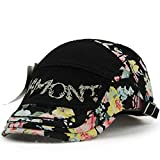 #9: Women's Trendy Summer Visor Sun Embroidery Newsboy Beret Cap Hat