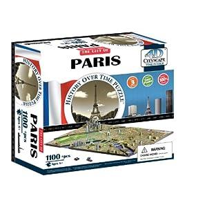 4dcityscape Time Puzzle Parigi