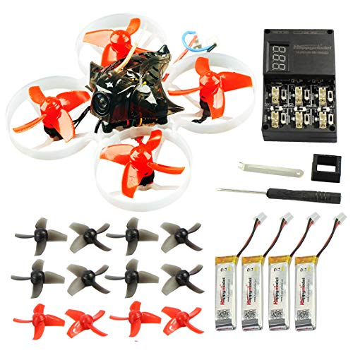 Cheap QWinOut Happymodel Mobula7 Quadcopter Indoor Four-axis 2S 75mm Brushless Whoop Racer Drone BNF (XM+ Receiver for Frsky EU-LBT Standard Version)