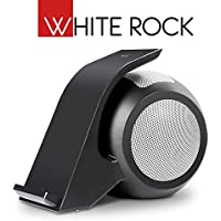 White Rock - Bluetooth 15W Wireless Stereo Speaker and Qi Fast Wireless Charging Stand (Black)