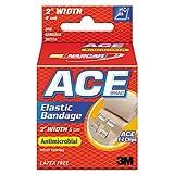 3M 207310 Ace Elastic Bandage with E-Z Clips, 2'' x 50'', 1-Bandage