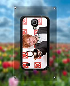 Kanel - Galaxy S4 Mini Funda Case actor Ed Sheeran Wonderful Pattern Design Dust-proof Anti Slip Cell Phone Cover for Samsung Galaxy S4 Mini