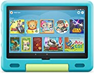 Amazon Kid-Proof Case for Fire HD 10 tablet (Only compatible with 11th generation tablet, 2021 release) – Aqua