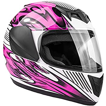 Amazon.com: Vega Helmets Mach 2.0 JR Kids Youth Motorcycle ...