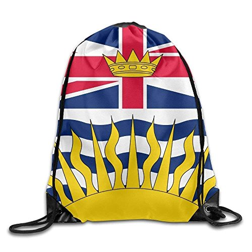 Trsdshorts Columbia British Drawstring Rucksack Flag Unisex Bag Sport Bags Bag Shoulder Backpack Canada Gym Print HqrUWFHTn