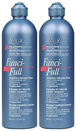 Lot of 2 Roux Fanci-Full #32 Lucky Copper Temporary Hair Color Rinse