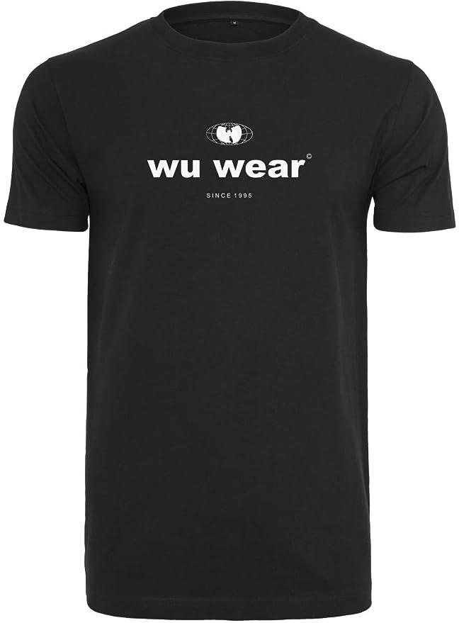 Wu Tang Clan Kapuzenpullover Band Logo C.R.E.A.M Nue offiziell Herren Schwarz