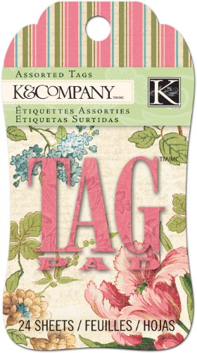 K&Company EK Success Merryweather Tag Pad