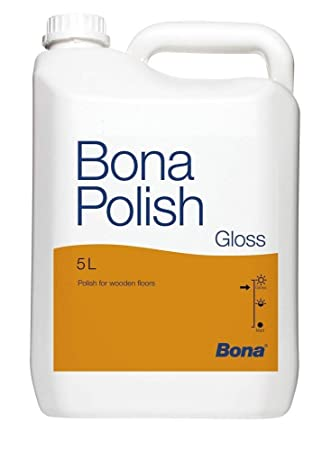 Bona Tech Parkett Polish Glanzend 5l Amazon De Kuche Haushalt