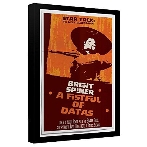 Star Trek: The Next Generation A Fistful of Datas Juan Ortiz Poster Canvas Wall Art -