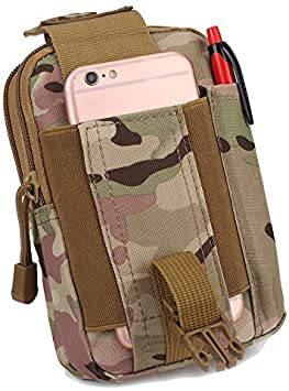 Portable Tactical Utility Molle Gadget Pouch Outdoor Military Waist Belt Bags US