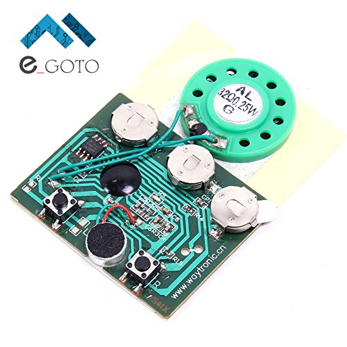 Programmable Key Module - 30secs 30S Key Control Sound Voice Audio Recordable Recorder Module Chip Programmable Music Board For Greeting Card DIY Gifts