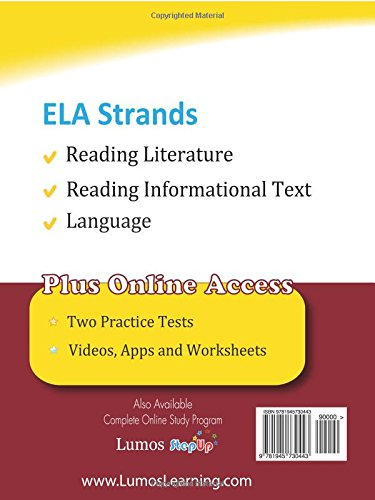 Ohio State Test Prep: Grade 5 English Language Arts Literacy (ELA ...