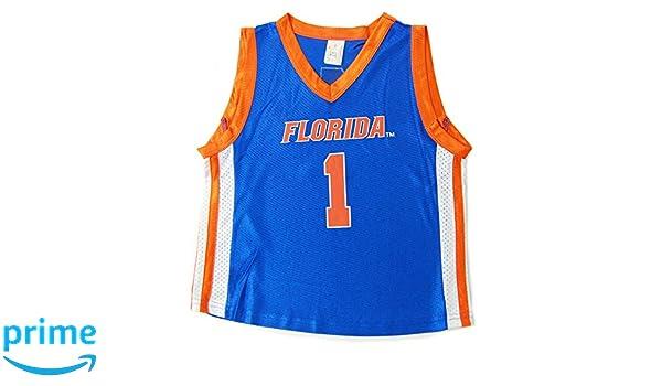 Amazon.com  Little King NCAA Florida Gators Infant Toddler  1 Basketball  Jersey  Clothing c53f69164