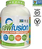SAN Nutrition RawFusion Plant Protein Powder, Vanilla Bean, 65.3 Ounce