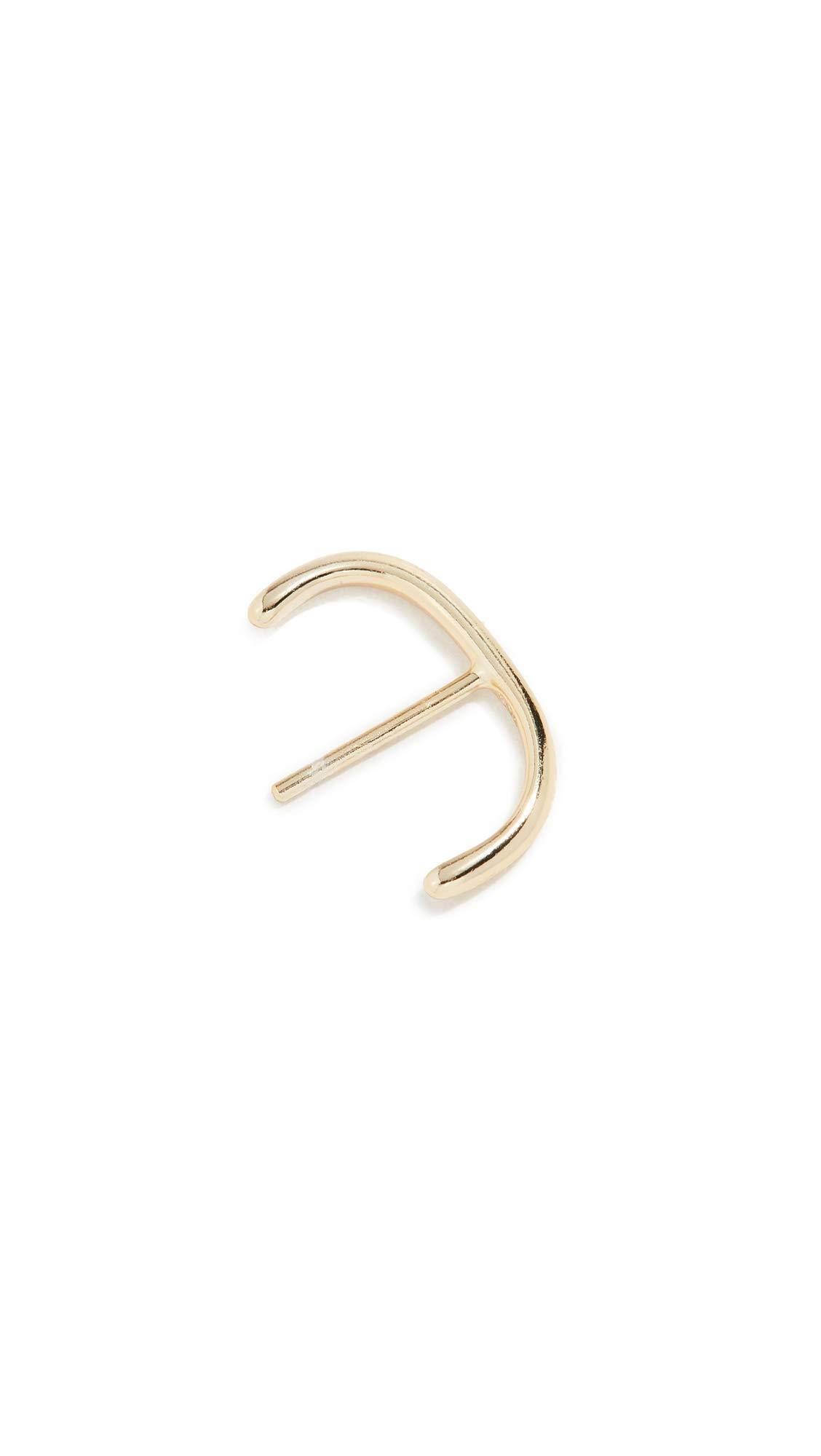 Shashi Women's Ford Stud Cuff, Gold, One Size