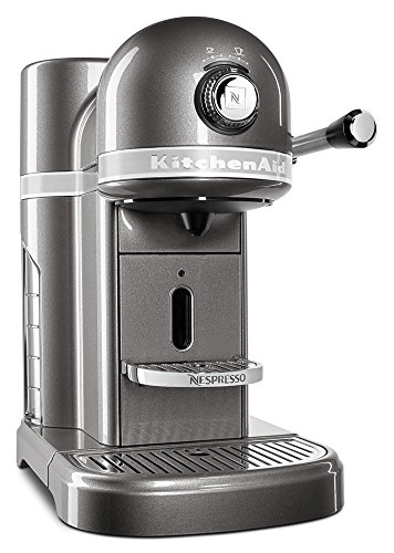 KitchenAid KES0503MS Nespresso, Medallion Silver