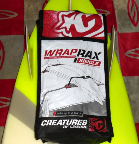 (Creatures of Leisure Surfboard Car Soft Wrap Racks - Team Designed Single Rax. Designed and Created in Australia.)