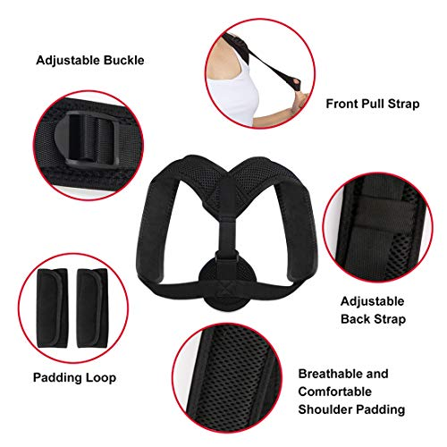 Buy posture corrective brace for rounded shoulders
