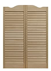 Pinecroft 858042 Dixieland Louvered Caf ...