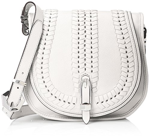 orYANY Amanda Saddle Cross Body, White, One Size Amanda Bag