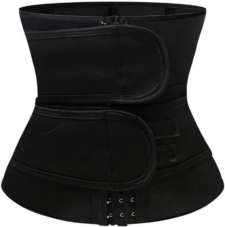 Color : A, Tama/ño : S LBBL Cintas Modeladora Cintura Cintur/ón Cors/é Adelgazante Cuerpo Moldeador Neopreno Deporte Cintur/ón Acero Deshuesado Cintura Trainer