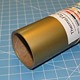 ThermoFlex Plus 15'' x 10' Roll Old Gold Heat Transfer Vinyl, HTV by Coaches World