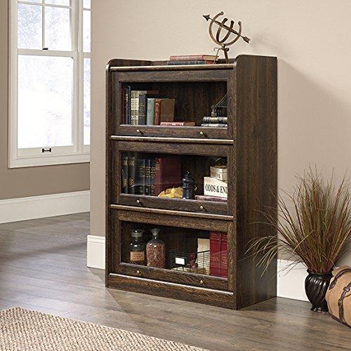 Collection Barrister Bookcase - Sauder 422790 Barrister Lane Bookcase, Iron Oak Finish