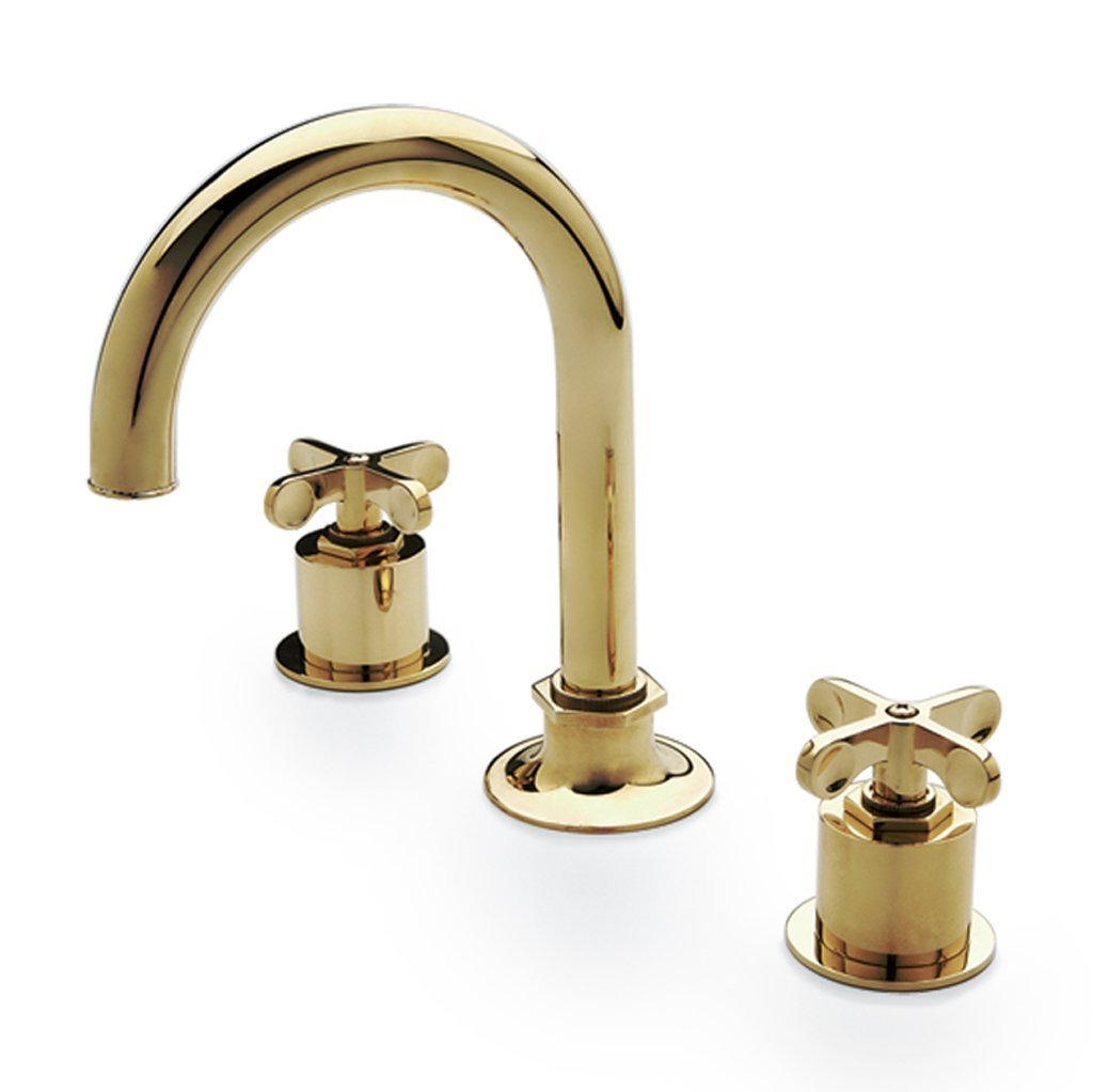 Waterworks Henry Bathroom Faucet in Unlacquered Brass