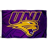 College Flags and Banners Co. Northern Iowa Panthers UNI Logo Flag
