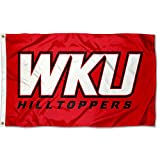 Cheap College Flags and Banners Co. Western Kentucky Hilltoppers WKU Logo Flag