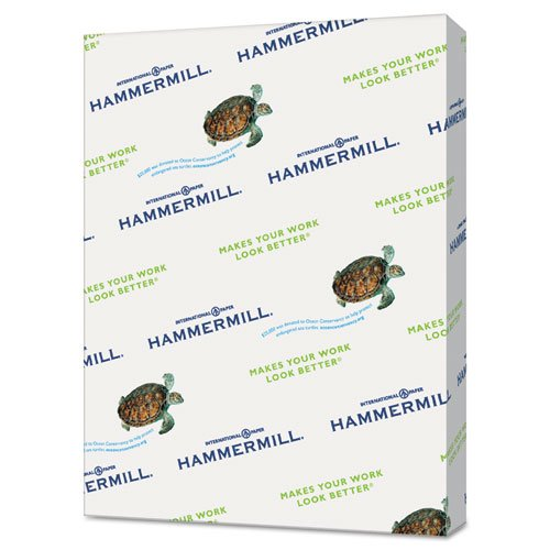 Hammermill 103309CT Recycled Colored Paper, 20lb, 8-1/2 x 11, Blue, 5000 Sheets/Carton by Hammermill