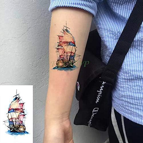 Yyoutop Etiqueta engomada del Tatuaje Temporal Impermeable Antiguo ...