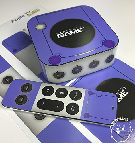 [해외]Nintendo Gamecube 애플 TV 스킨 데칼/Nintendo Gamecube Apple TV skin   Decal