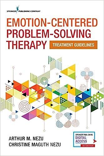 problem solving therapy dzurilla