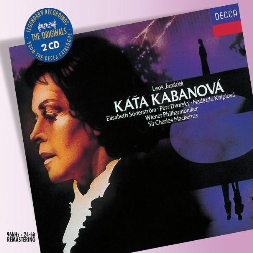 CD : Elisabeth S derstr m - Katya Kabanova (Remastered, 2PC)