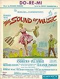 Julie Andrews'SOUND OF MUSIC' Christopher Plummer/Rodgers & Hammerstein 1965 Movie Sheet Music