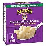 Annie's Homegrown Shells & White Cheddar Macaroni & Cheese, 680 Grams