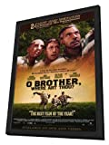 O Brother Where Art Thou? - 27 x 40 Framed Movie Poster