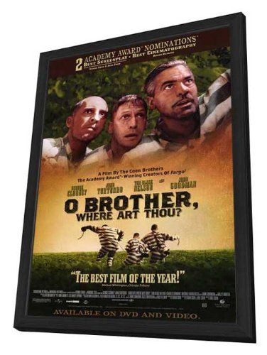 O Brother Where Art Thou? - 27 x 40 Framed Movie Poster by Movie Posters