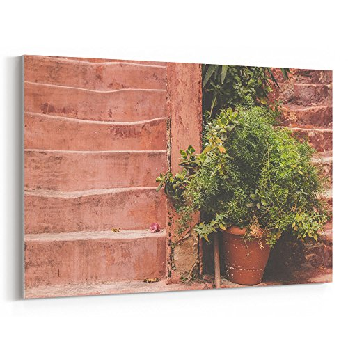 Westlake Art - Old Green - 12x18 Canvas Print Wall Art - Canvas Stretched Gallery Wrap Modern Picture Photography Artwork - Ready to Hang 12x18 Inch (8A0C-667D1) (Grow Sunflower Bucket)