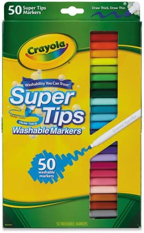 Crayola Washable Super Markers Variety product image