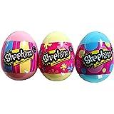 Shopkins Easter Eggs Set of 3 Eggs - 2 Shopkins in each Egg