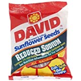 David's Sunflower Seeds Reduced Sodium 5.25 Oz (Pack of 12)